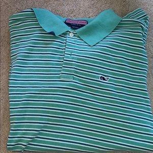 men's vineyard vines shirt sleeve polo